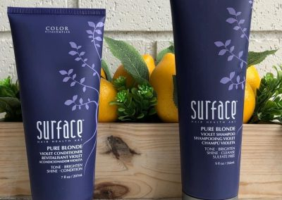 Surface pure blond
